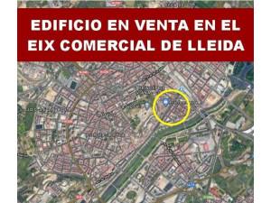 EDIFICIO EN VENTA EN EIX COMERCIAL DE LLEIDA.