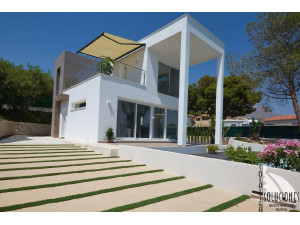 Espectacular Chalet Moderno con vistas al mar, piscina ...