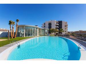 Residencial con piscina, sauna y gimnasio